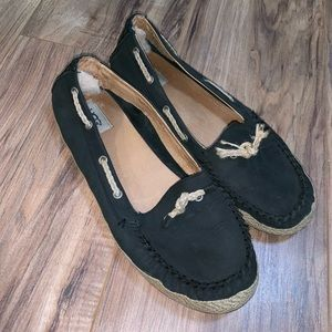 Ugg Nautical Moccasin Slip On Shoes Sz 10